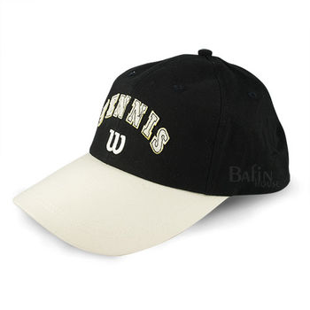 【Wilson】休閒運動帽(黑)