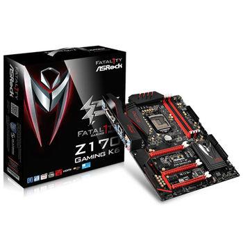 ASROCK 華擎 Fatal1ty Z170 Gaming K6 主機板