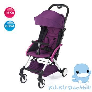 《KU.KU酷咕鴨》酷咕鴨時尚輕旅車(6037)-紫