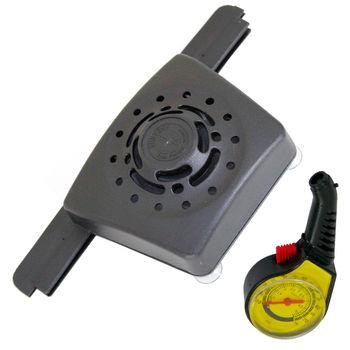 omax豪華型分離式太陽能車內降溫器(加贈高級胎壓表)