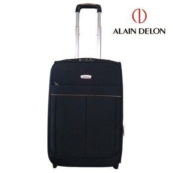 【ALAIN DELON 亞蘭德倫】 20吋 經典款布面行李箱/拉桿箱/登機箱