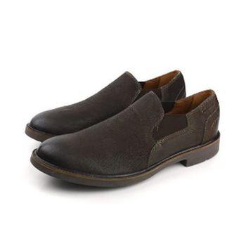 Clarks Wahlton Free 皮鞋 咖啡 男款 no703