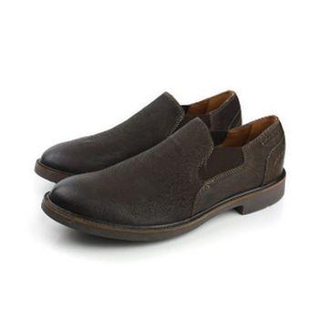 Clarks Wahlton Free 皮鞋 黑 男款 no702