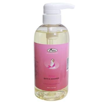 ebio玫瑰精油沐浴精500ml-一般肌膚適用