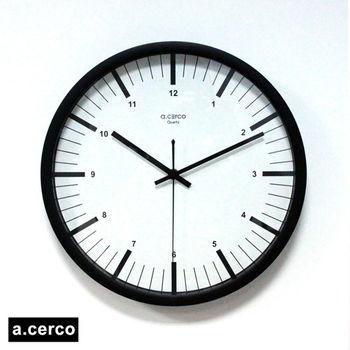 【a.cerco】MERCI 消光黑時鐘