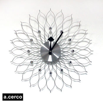 【a.cerco】Sunflower Metal (銀色)