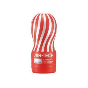 日本TENGA AIR-TECH 重複使用 控制器兼容版 空氣飛機杯 VC標準款 紅