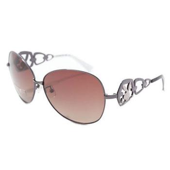 PLAYBOY-時尚太陽眼鏡(銀色)PB81073