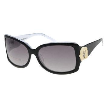 PLAYBOY-時尚太陽眼鏡(黑色)PB83060
