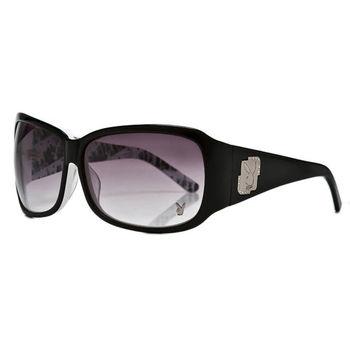 PLAYBOY-時尚太陽眼鏡(黑色)PB83036