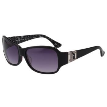 PLAYBOY-時尚太陽眼鏡(黑色)PB83015