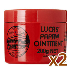 澳洲木瓜霜 Lucas Papaw Ointment 200g *2入(護唇膏)