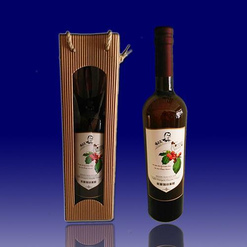 古坑【山海觀咖啡莊園】能量咖啡果醋750m/瓶(禮盒)x2
