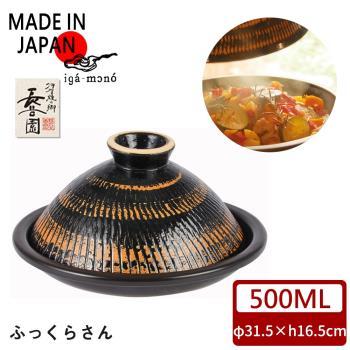 【日本長谷園伊賀燒】多功能調理摩洛哥蒸煮鍋(大3-5人)