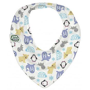 ImseVimse-有機棉領巾型圍兜(極地探險)