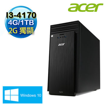 【ACER宏碁】 TC-705 Intel I3-4170雙核 2G獨顯 Win10電腦(TC-705-EE01Z)