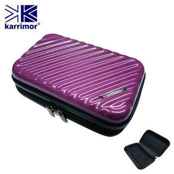 英國【Karrimor】浪漫紫7吋過夜盥洗包 KM-1889