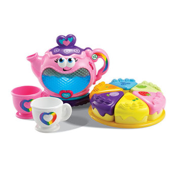 《LeapFrog 跳跳蛙》美國跳跳蛙LeapFrog-下午茶扮家家酒茶壺組★原廠優質玩具