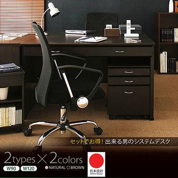 JP Kagu 日系系統書桌/辦公桌+抽屜櫃+收納櫃(二色)