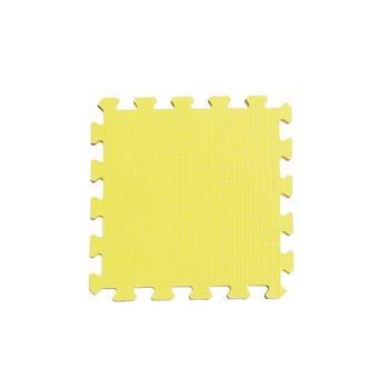 新生活家 EVA抗菌地墊32x32x1cm-30入柔和黃