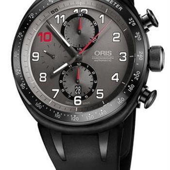 Oris Darryl OYoung賽事歐陽若曦計時限量機械腕錶-黑/45.50mm (0177476117784-SET)
