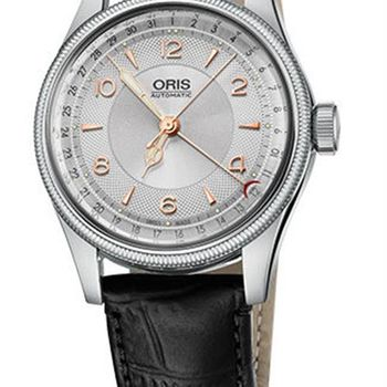 Oris Big Crown Original 大表冠指針式日期錶-銀/40mm (0175476964061-0752053)