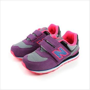 New Balance 574系列 跑鞋 紫 童 no893