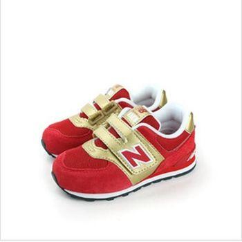 New Balance 574系列 跑鞋 紅 小童 no970
