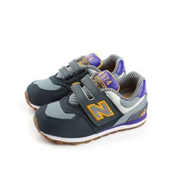 New Balance 574系列 跑鞋 灰 小童 no962
