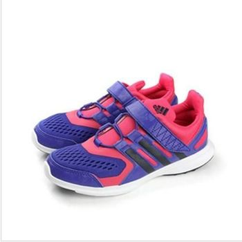 adidas hyperfast 2.0 el k 跑鞋 紫 童 no205