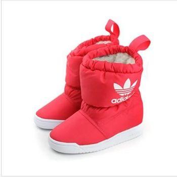 adidas SLIP ON BOOT I 短靴 紅 小童 no166