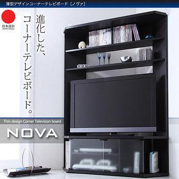 JP Kagu 日系薄型時尚角落電視收納櫃(二色)
