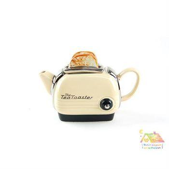 THE TEAPOTTERY 英國手工藝術茶壺 - 烤麵包機 (米)小型一杯份