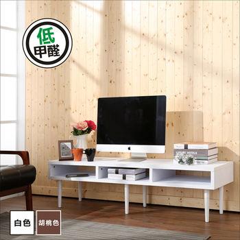 BuyJM 環保 低甲醛厚板5尺電視櫃/茶几(兩色可選)