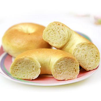 【台灣鑫鮮】手作烘焙甜式貝果組合(原味x4+義式香草x4+蔓越莓x4+巧克力x4)
