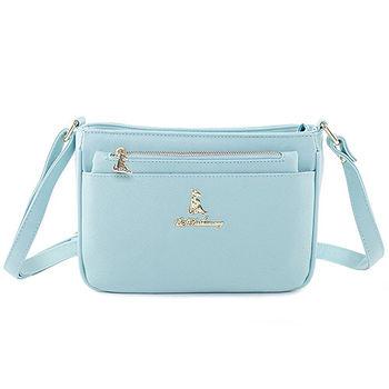 冰山袋鼠 日系春色好感系列側背包附手拿包-9006-青蘋綠