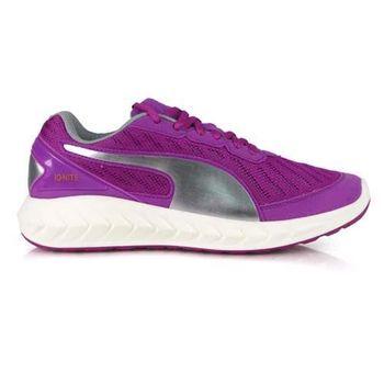【PUMA】IGNITE ULTIMATE 女慢跑鞋- 路跑 運動 健走 紫銀