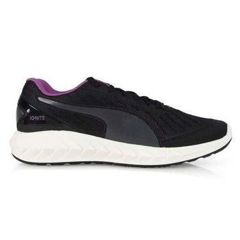【PUMA】IGNITE ULTIMATE 女慢跑鞋- 路跑 運動 健走 黑紫
