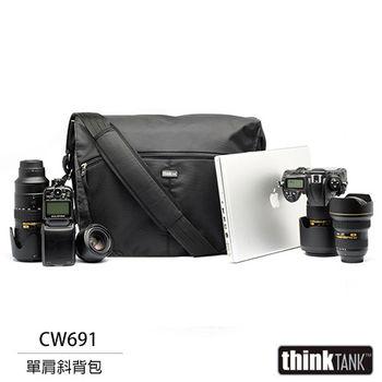 thinkTank 創意坦克 CityWalker 30 都會旅行系列 單肩背包(CW691,黑色)