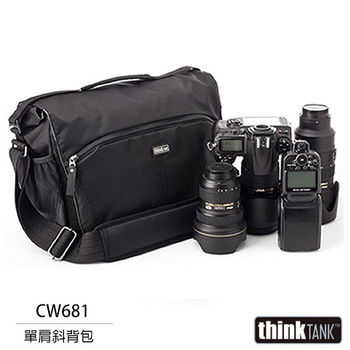 thinkTank 創意坦克 CityWalker 20 都會旅行系列 單肩背包(CW681,黑色)