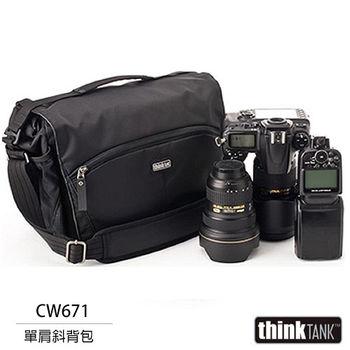 thinkTank 創意坦克 CityWalker 10 都會旅行系列 單肩背包(CW671,黑色)