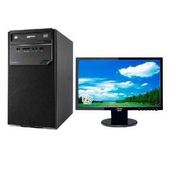 【ASUS華碩】D320MT i3-6100雙核 Win7Pro PC+VE198T 19吋LCD 組