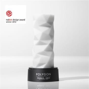TENGA-3D 立體紋路自慰套 TNH-004 Polygon(不規則多面體)