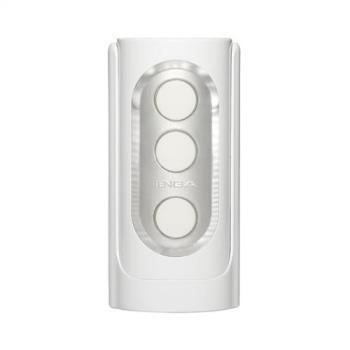 日本TENGA-限量版 異次元 重複使用體位杯FLIP HOLE WHITE