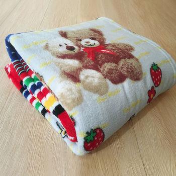 Lapin 熊寶貝 四季保暖法蘭絨毯(150x190cm)