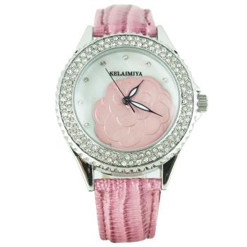 克萊米亞山茶花經典腕錶(買粉送黑)