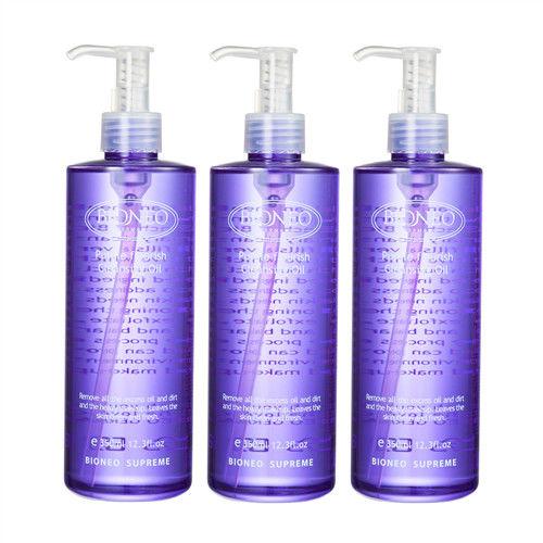 【BIONEO德國百妮】紫花淨顏卸妝油(350ml x3)