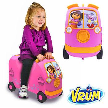 美國 VRUM 卡通造型 兒童行李箱 朵拉