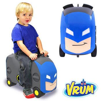 美國 VRUM 卡通造型 兒童行李箱 蝙蝠俠