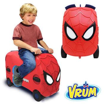 美國 VRUM 卡通造型 兒童行李箱 蜘蛛人